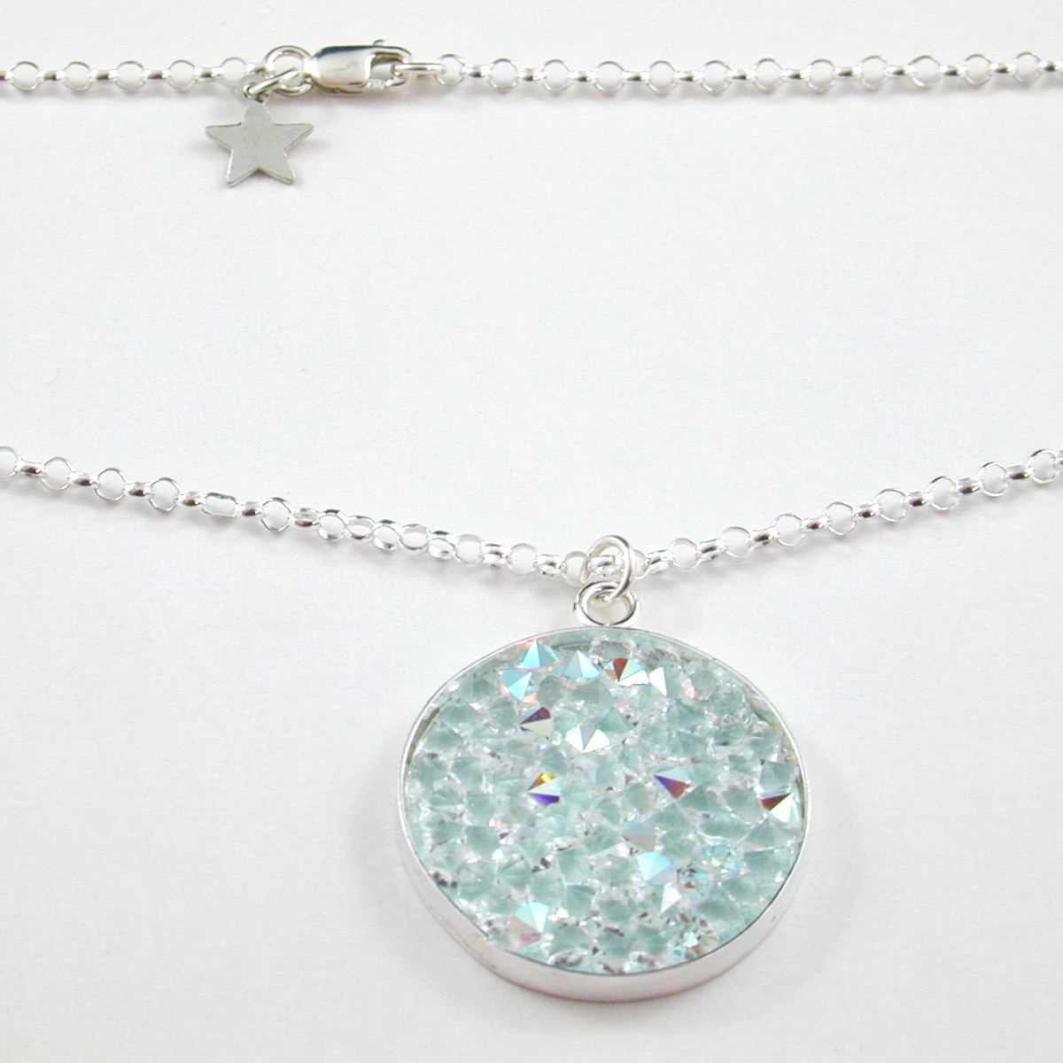 handmade 'roxie' crystal necklace